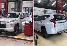 Mitsubishi Pajero Sport SUV Facelift Spied Undisguised, India-Bound1