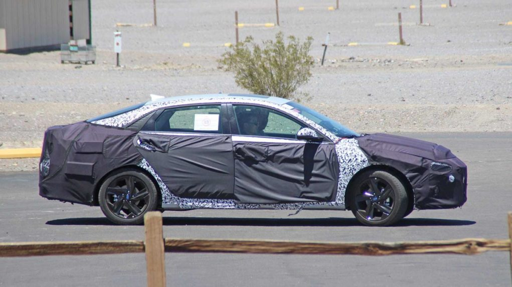 Next-Generation 2021 Hyundai Elantra Spied 1