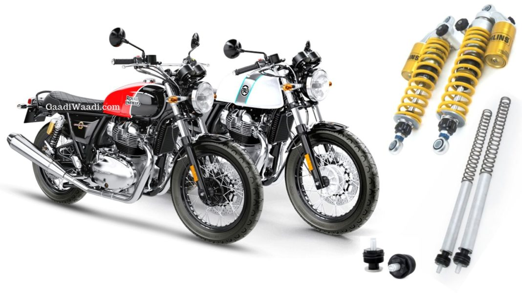 Ohlins Royal Enfield 650 Twins Suspension 2
