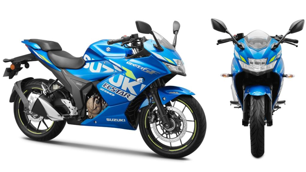 Suzuki Gixxer SF 250 Moto GP Edition Launched 1