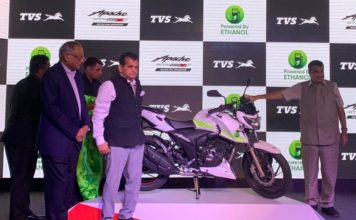 TVS Apache RTR 200 Fi E100 (Ethanol) Launched In India