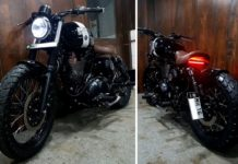 This Custom Royal Enfield Looks Dope With The All-Black Treatment