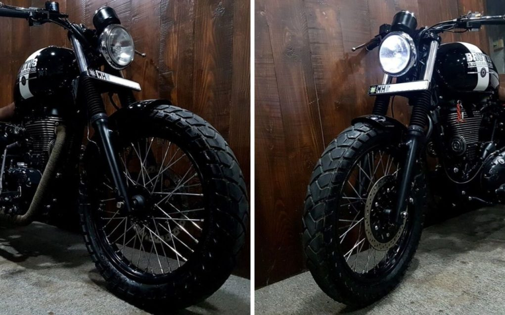 This Custom Royal Enfield Looks Dope With The All-Black Treatment 3