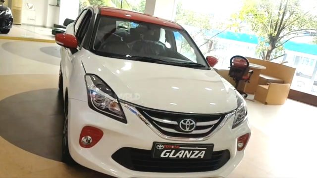 Toyota Glanza Sport front