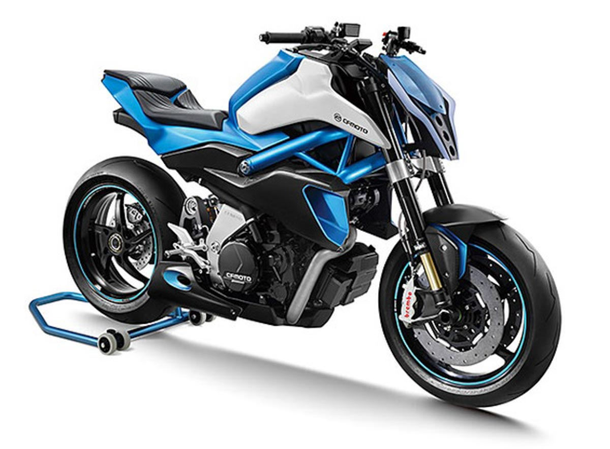 CF Moto Likely To Launch An Electric Bike Based On The 300