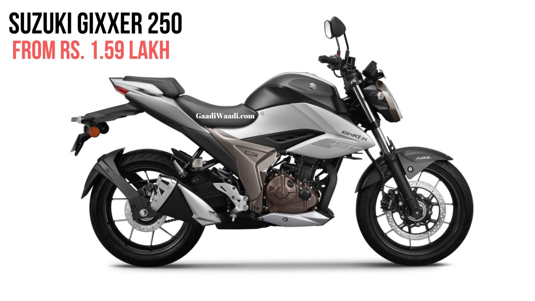 New (2019) Suzuki Gixxer 250 Launched In India At Rs 1.59