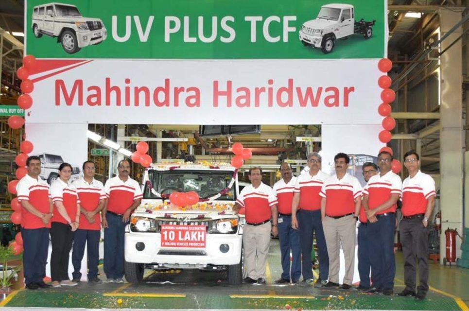 mahindra one million production 1