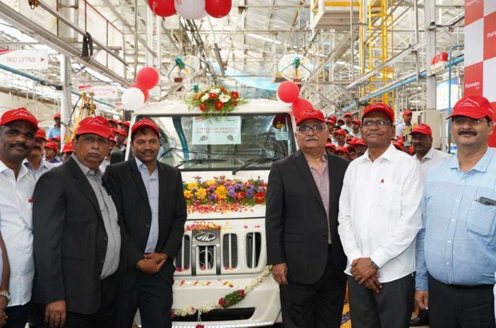 mahindra one million production 2