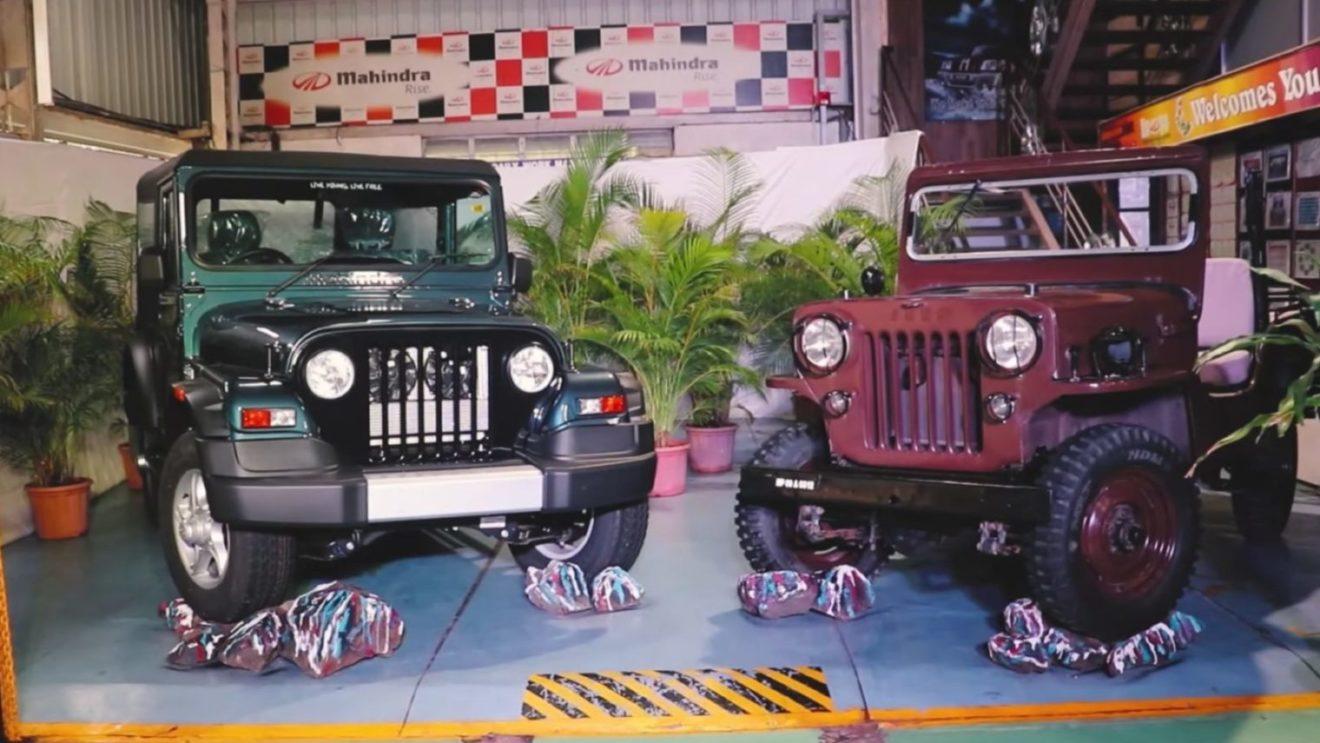 Mahindra Commemorates Thar SUV With New Video, Reveals How Thar 700 is Made - GaadiWaadi.com