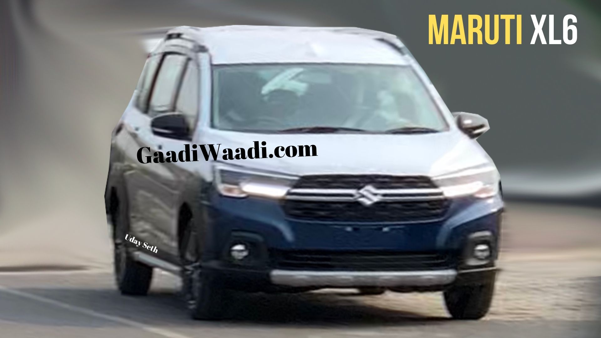Maruti Suzuki XL6 Front Design Revealed Completely In New ...