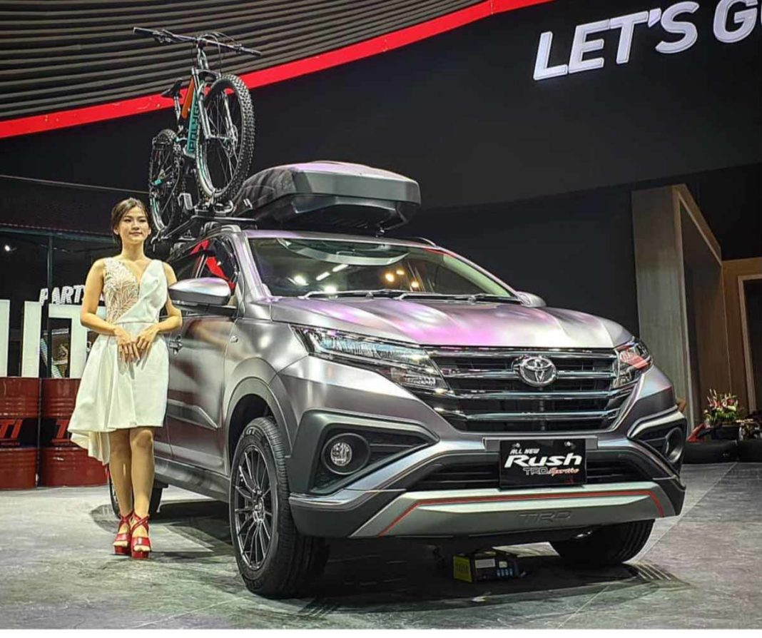Suvs With Mega Modification Potential From Toyota: India-Bound Toyota Rush SUV Showcased At 2019 GIIAS