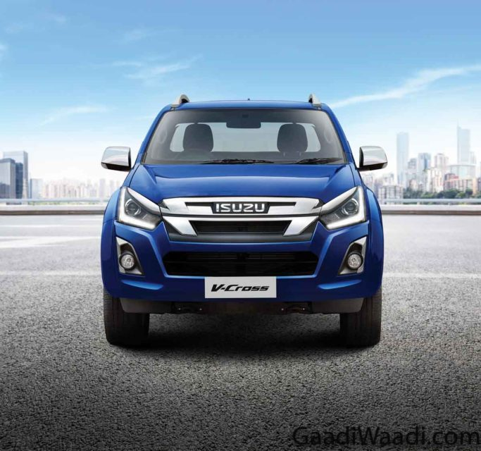 Exterior Full Front Grill and Lamps 2019 isuzu v-cross