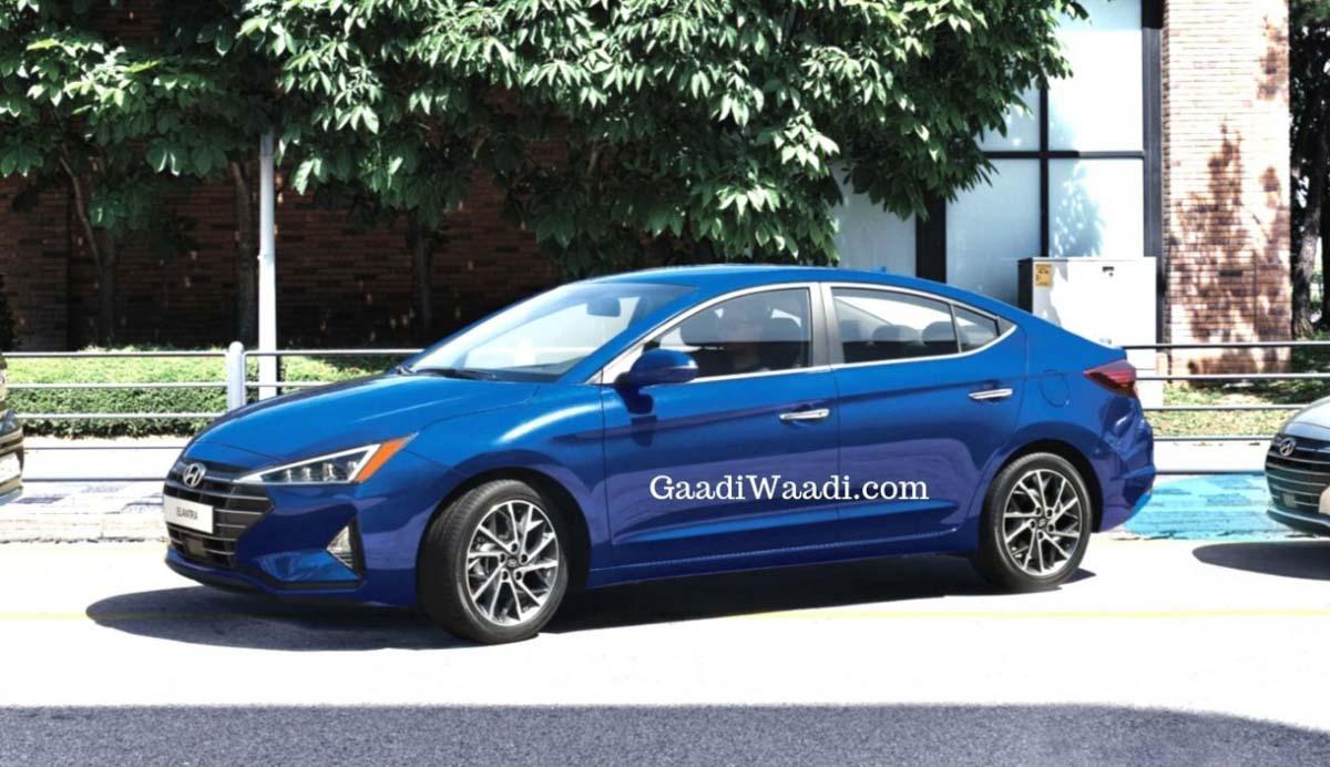 2020 Hyundai Elantra Spied 1