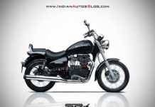 2020 Royal Enfield Thunderbird Rendered