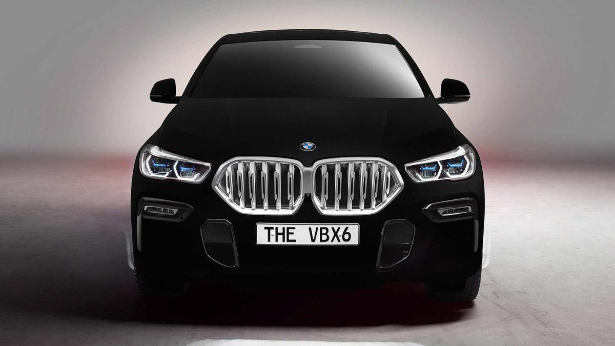 Bmw X6 Vantablack Is The World S Darkest Black Colour Car
