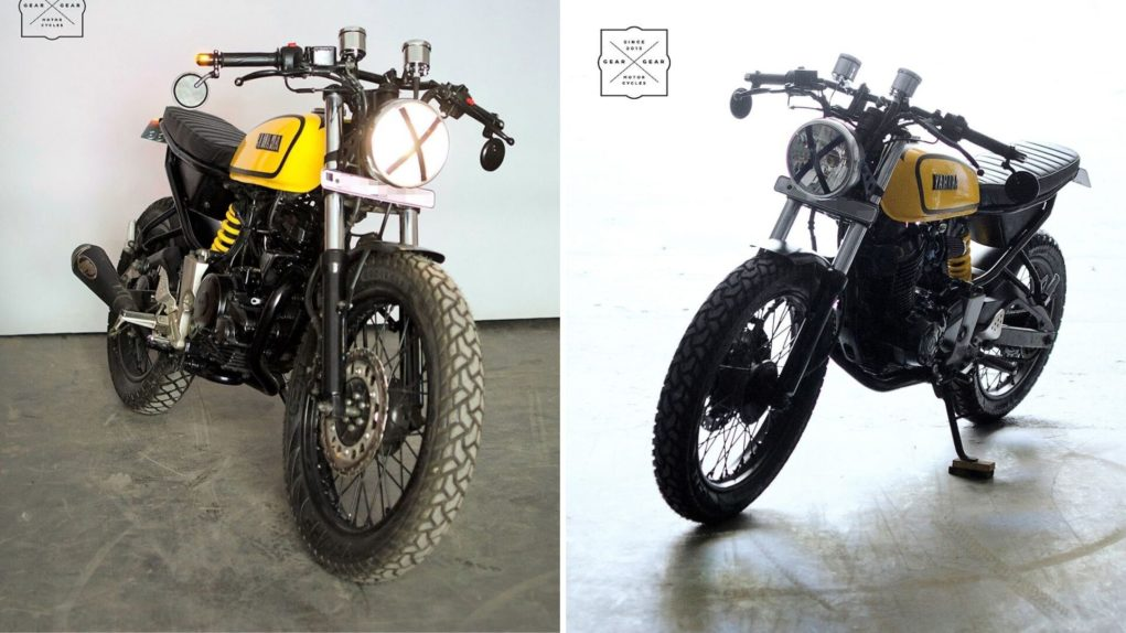 First-Generation Yamaha FZ Transformed To Look Like The Legendary RX 1001