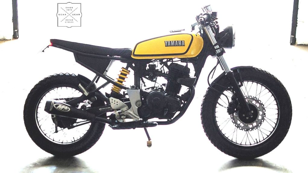First-Generation Yamaha FZ Transformed To Look Like The Legendary RX 1003