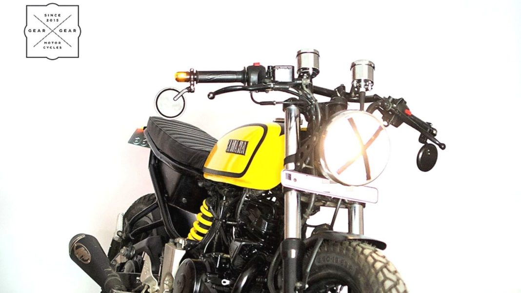 First-Generation Yamaha FZ Transformed To Look Like The Legendary RX 1004