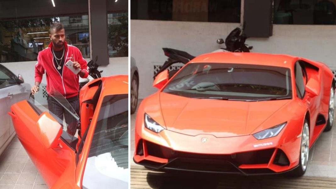 Hardik Pandya Is Now An Owner Of Lamborghini Huracan Supercar