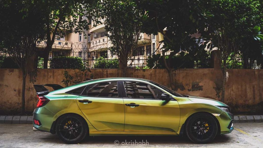 Honda Civic Custom Wrap 1