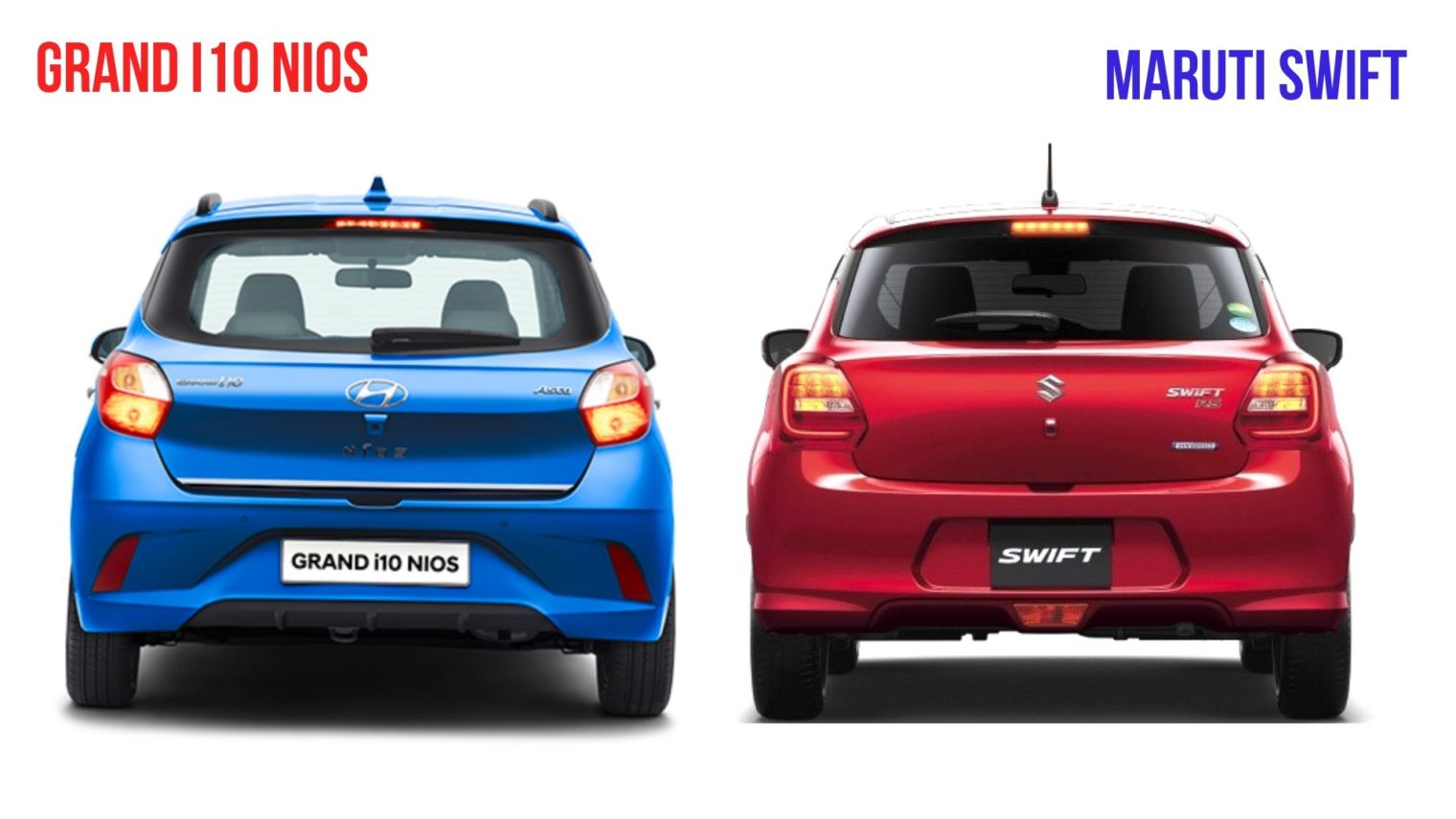 Hyundai Grand i10 Nios vs Maruti Suzuki Swift Comparison3