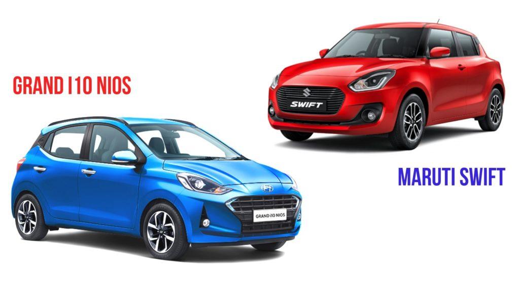Hyundai Grand i10 Nios vs Maruti Suzuki Swift Comparison4