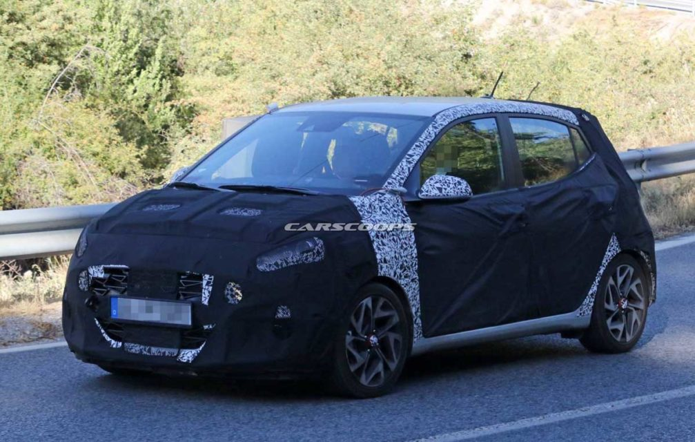 India-Bound 2020 Hyundai i10 N Spied