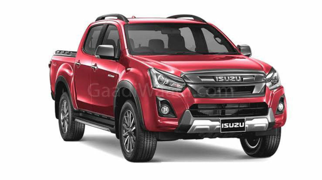Isuzu V-Cross 1.9L Diesel launched with 6 Speed AT in India