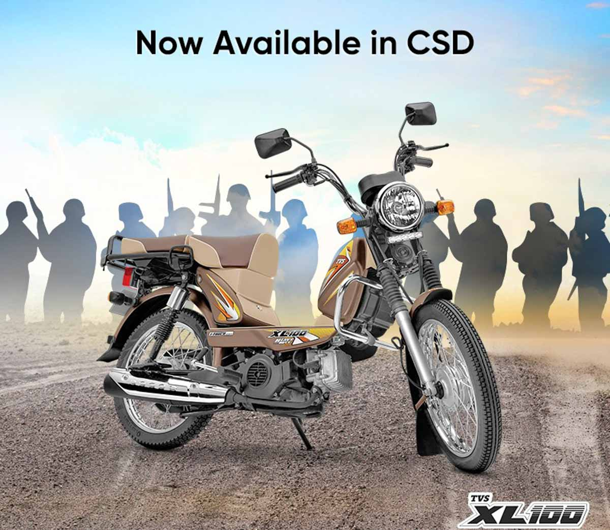 Tvs Xl100 I Touch Hd Now Offered In Csd For Service Officials