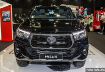 Toyota Hilux 2.8 Black Edition Front