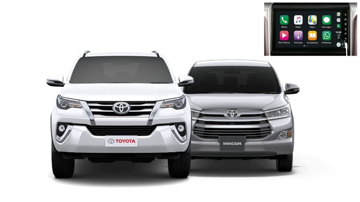 Toyota Innova Crysta & Fortuner Get New 9