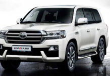 Toyota Land Cruiser Facelift Rendering 1