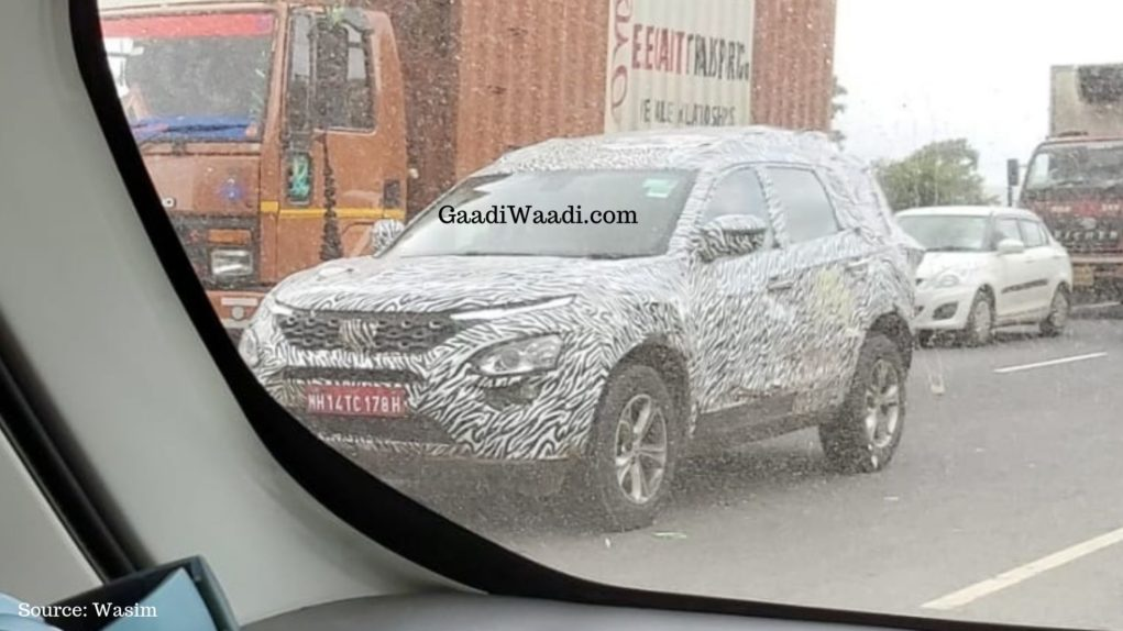 Upcoming Tata Harrier Based 7-Seater SUV 2