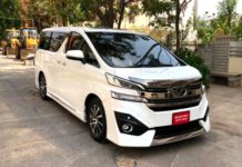 Upcoming Toyota Vellfire Luxury MPV Showcased To Potential Buyers In India