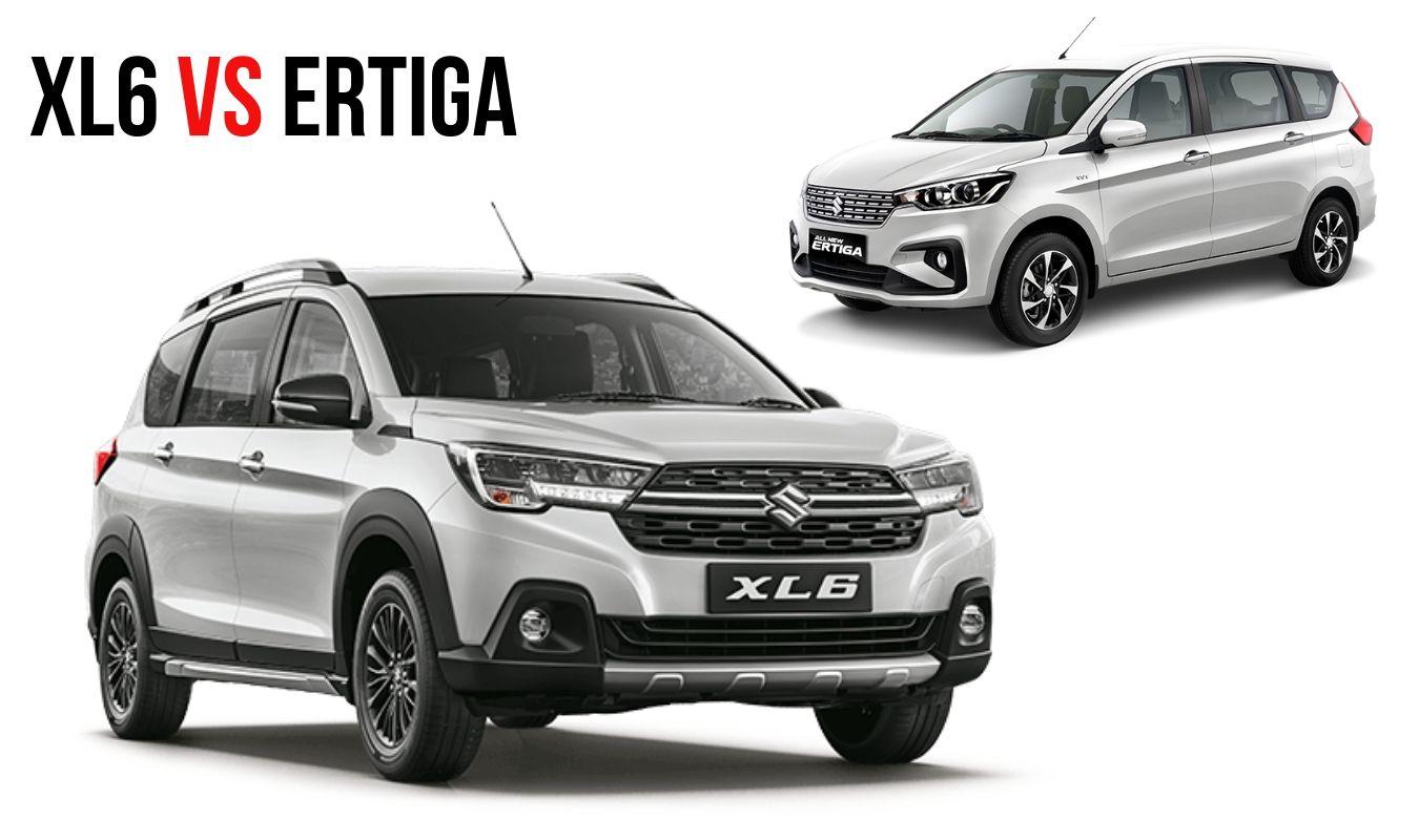 New Maruti Suzuki XL6 vs Ertiga MPV: Price & Features Comparison