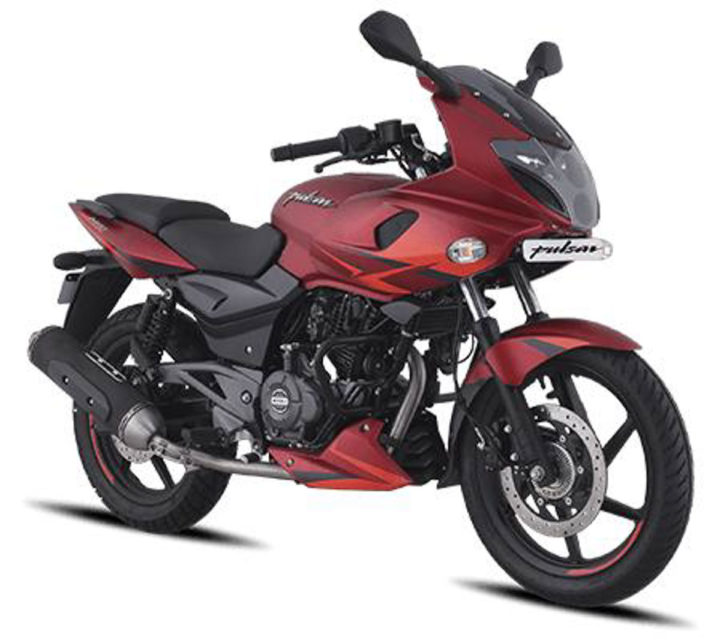 bajaj pulsar 220f volcano red launched