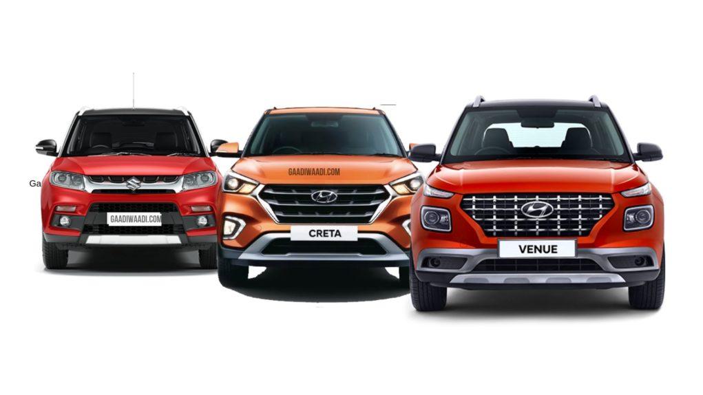 Top 10 SUV Sold In Dec 2019 – Maruti Brezza Sales Up By 41%