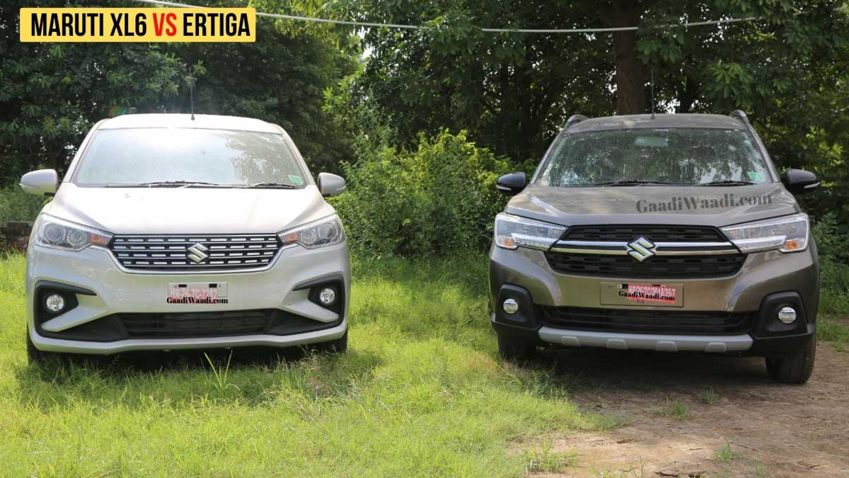 Maruti Suzuki Sold Over 12,000 MPVs In February 2021 – Ertiga & XL6 - GaadiWaadi.com