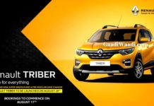 renault triber 28th august