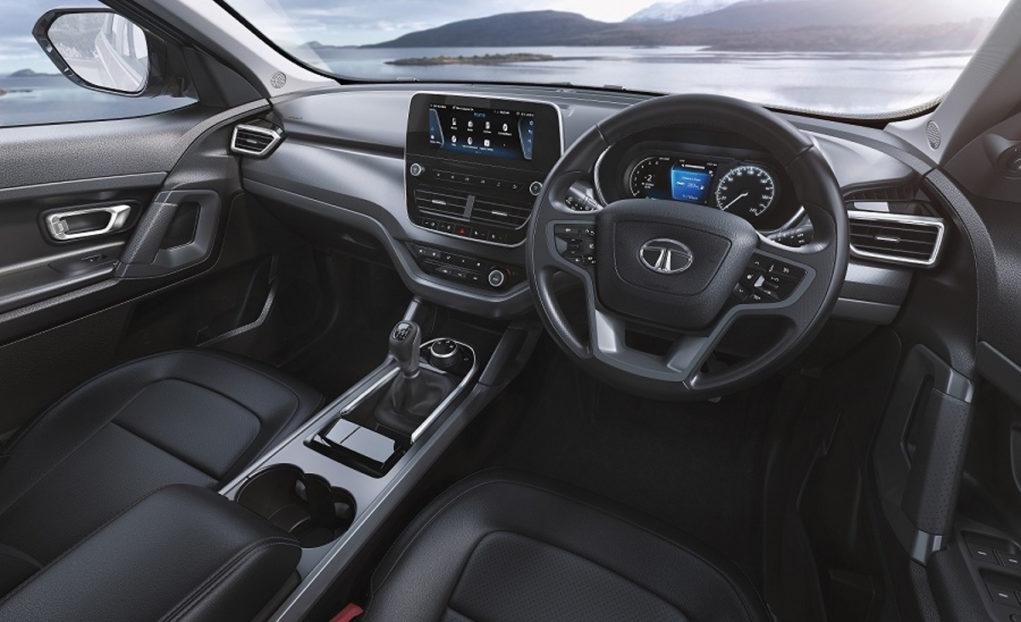 tata harrier dark edition interior
