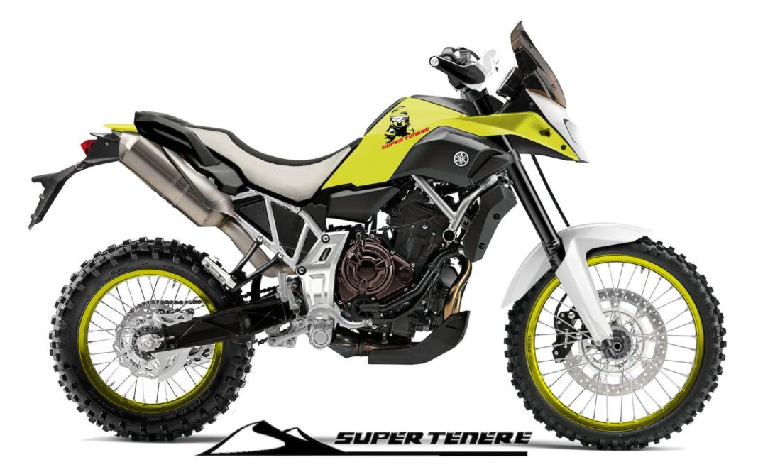 yamaha r15 based adventure bike