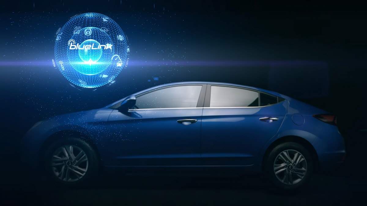 2019 Hyundai Elantra BlueLink Connectivity