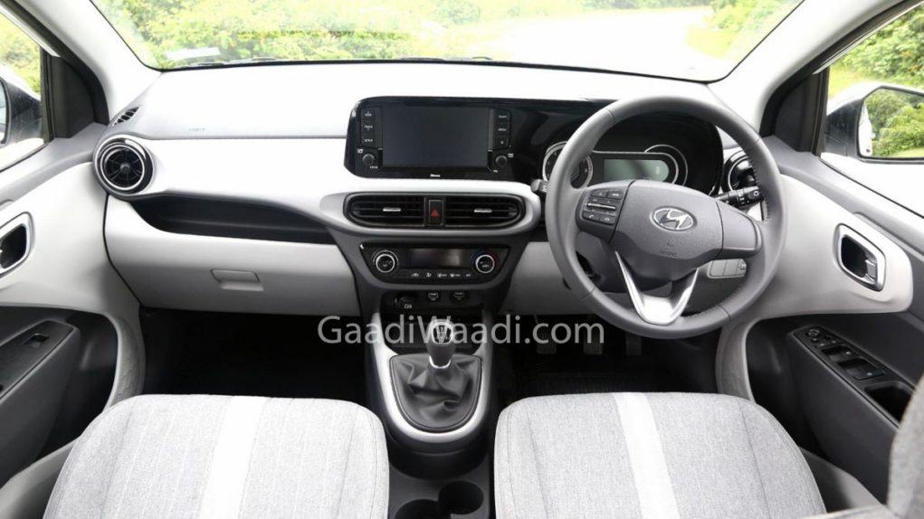 2019 Hyundai Grand i10 Nios Interior