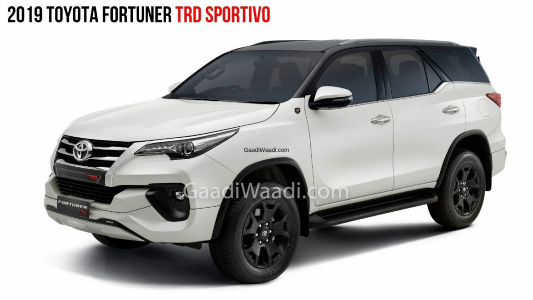2019 Toyota Fortuner TRD Celebratory Edition Launched At Rs. 33.85 Lakh 4