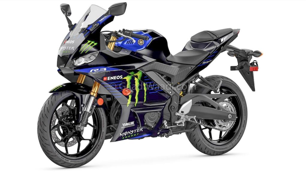2019 yamaha r3 Monster Edition-4