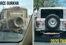 2020 Force Gurkha Spied