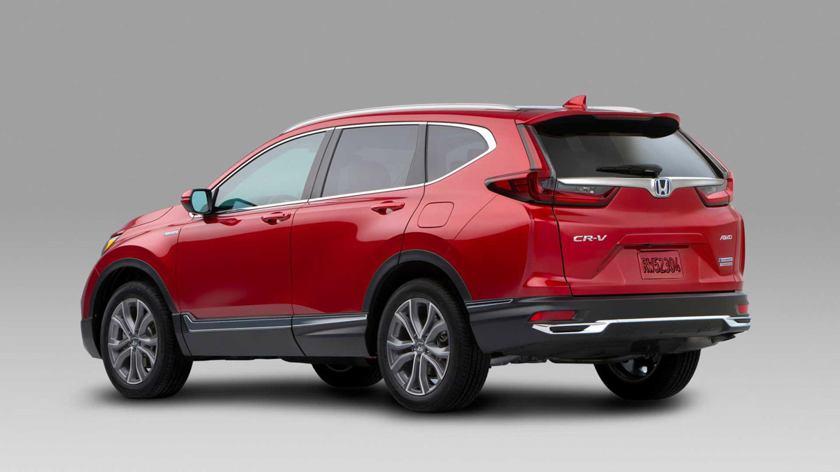 2020 Honda CR-V Becomes Brand's First Hybrid-Electric SUV
