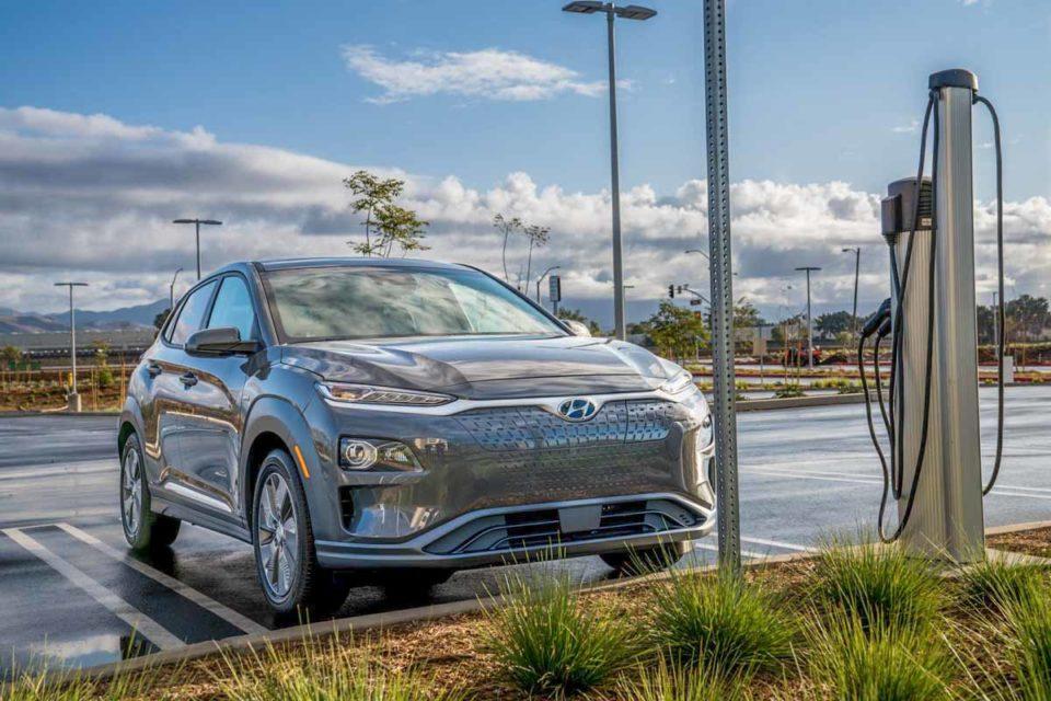 2020 Hyundai Kona Electric Front