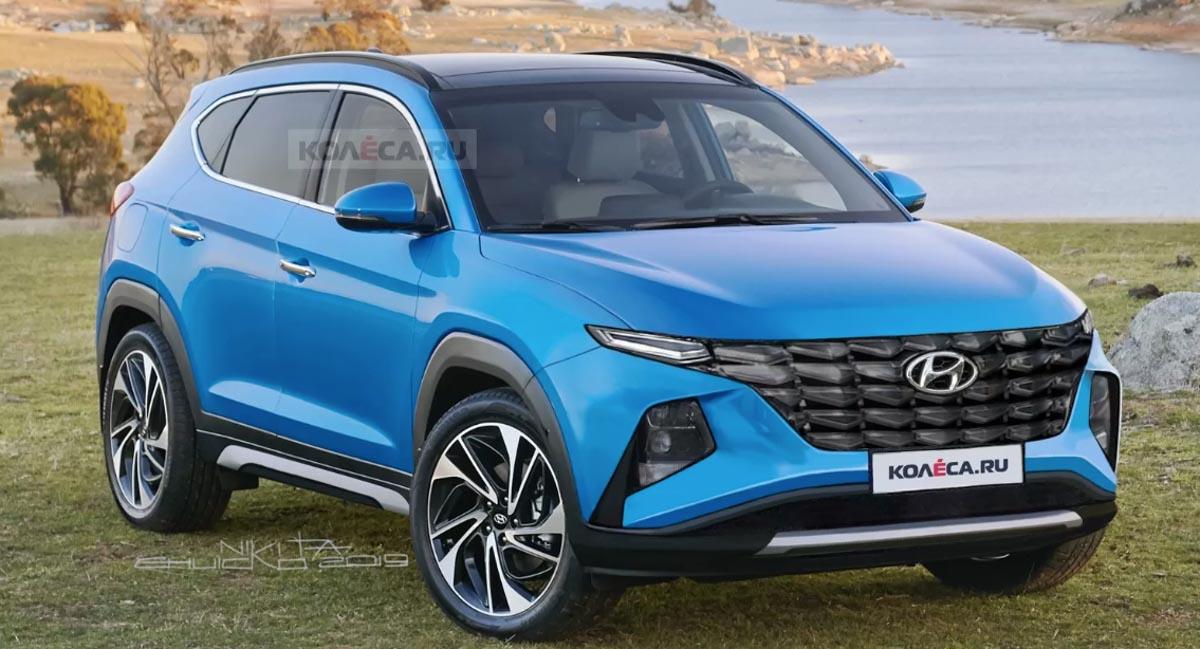 Next-gen 2020 Hyundai Tucson Imagined In A Digital Rendering
