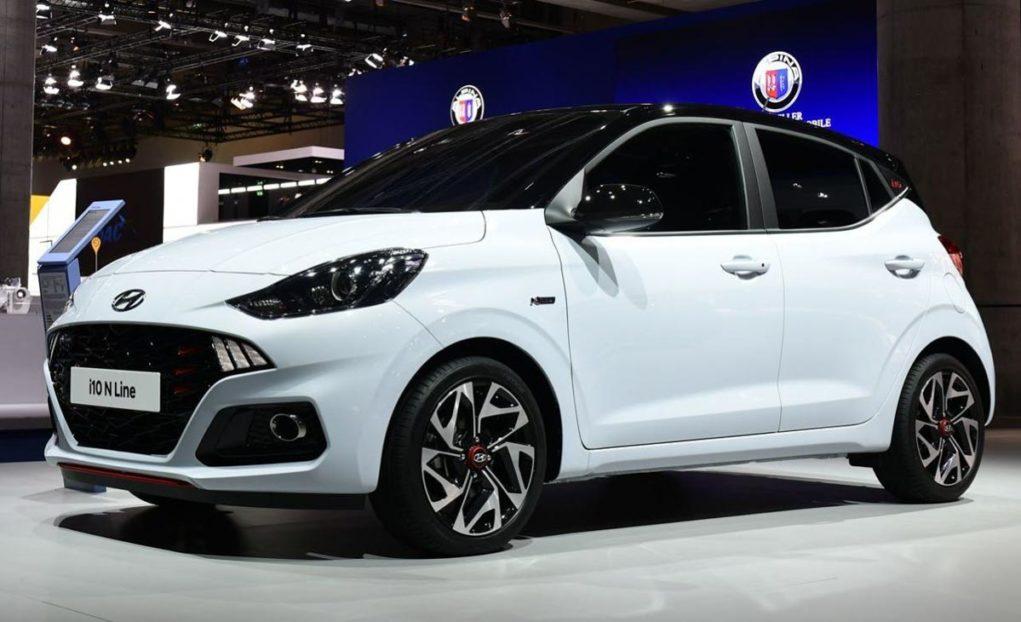 2020 Hyundai i10 N Line Front 1